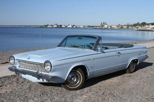 1963 Dodge Dart GT 바꿀 수 있는, 컨버터블
