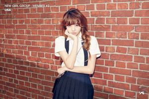 2nd member of the upcoming girl group Lisa!