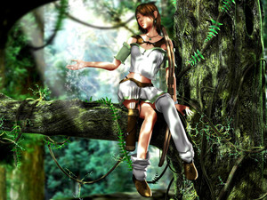 3D And 幻想 Girls 48