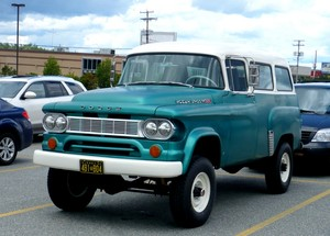 60' Dodge 100 PowerWagon Town Wagon