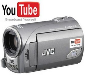 A video camera for YouTube