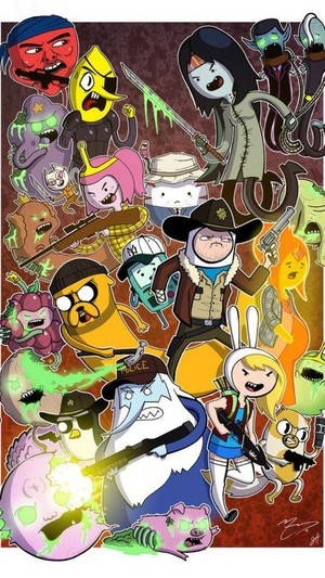 Adventure walking time dead
