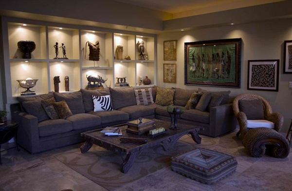 African-Themed Living Room - Random Photo (39614195) - Fanpop