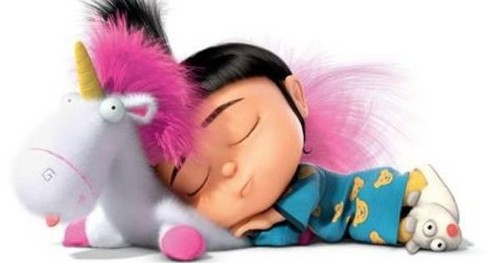 Random wallpaper entitled Agnes and Fluffy Unicorn