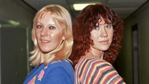 ABBA wallpaper probably with a pullover entitled Agnetha and Frida Switched 1920x1080