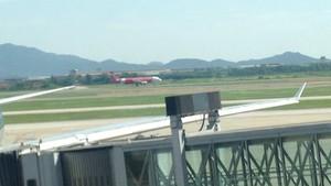 AirAsia A320 at NIA