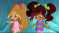 Aisha bffs with Flora - the-winx-club photo