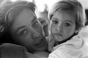 Alain Delon and Anthony