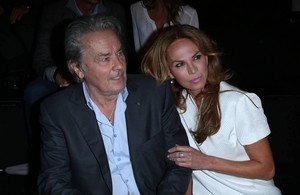 Alain Delon and Rosalie Van Breemen (2015)
