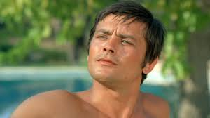 Alain Delon as Jean-Paul in La PISCINE (1969)