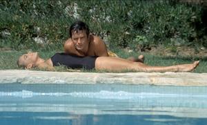 Alain in ' LA PISCINE ' 1969