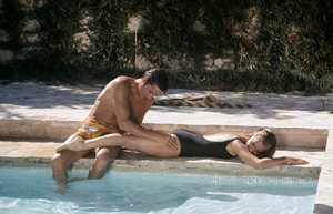 Alain in ' LA PISCINE ' 1969