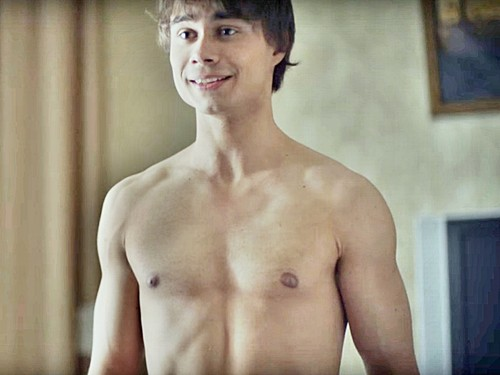 Alexander Rybak پیپر وال containing a six pack and a hunk کے, hunk titled Alexander Rybak
