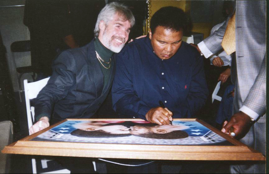 Ali and I Signing