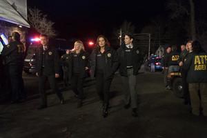 Amanda And Olivia in 'Nationwide Manhunt'