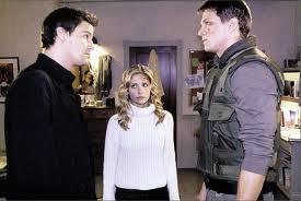Angel Buffy Riley upendo pembetatu