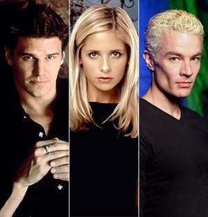 অ্যাঞ্জেল Buffy Spike প্রণয় ত্রিভুজ