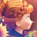 Anna icon - elsa-and-anna icon