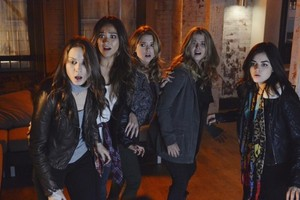 Aria Alison Hanna Spencer and Emily 6