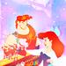 Ariel and Hercules - disney-crossover icon