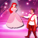 Ariel and Naveen - disney-crossover icon