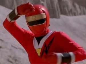 Aurico Morphed As The Red Alien Ranger