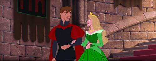 Những nàng công chúa Disney hình nền called Aurora In Green