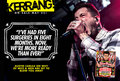 Austin Carlile interview on Kerrang Magazine - of-mice-and-men-band photo