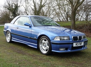 BMW M3 Cabriolet (E36) (Hardtop option)