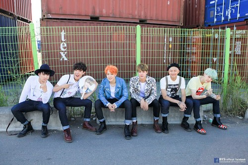 BTS wallpaper entitled BTS FESTA 2016 | Group foto Album