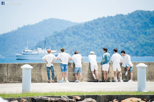 BTS wallpaper called BTS FESTA 2016 | Group Photo Album