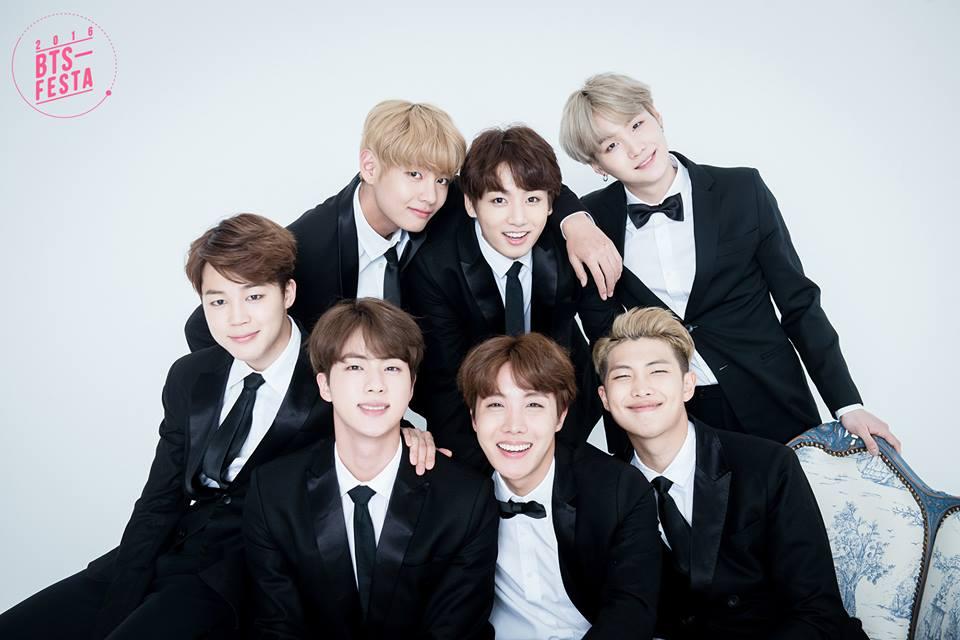 BTS FESTA 2016 | Group bức ảnh Album