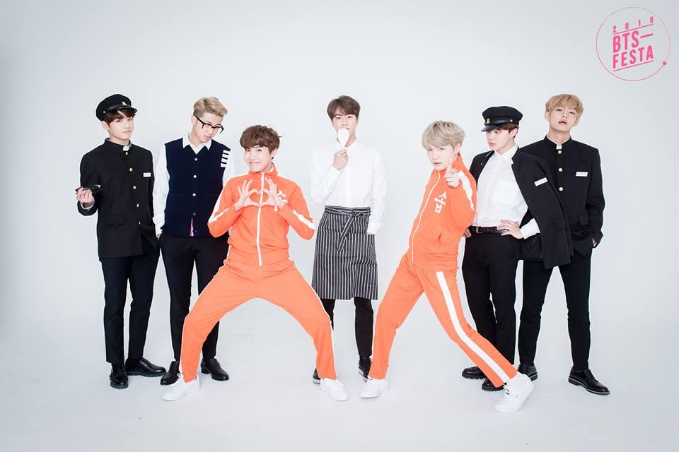 BTS FESTA 2016 | Group Photo Album