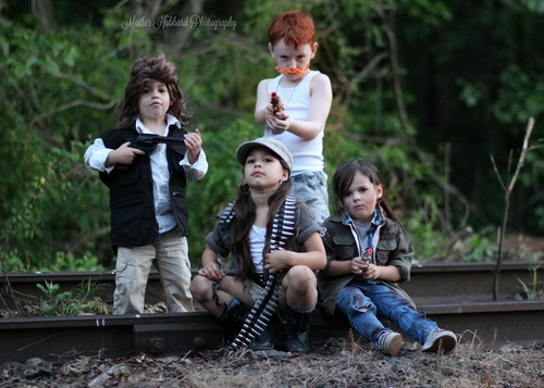 The Walking Dead achtergrond called Baby Team Washington