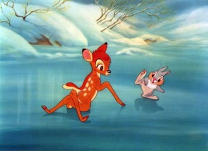 Bambi and Thumper on Ice