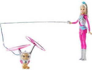 Barbie: estrela Light Adventure barbie doll
