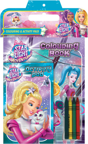 barbie estrela Light Adventure Book