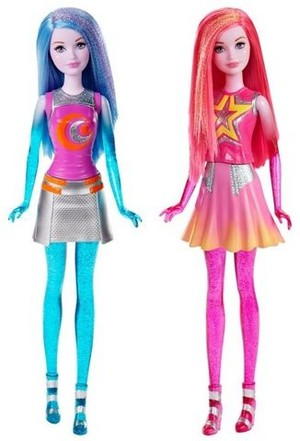 Barbie: Star Light Adventure dolls