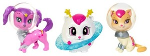 Barbie: 星, つ星 Light Adventure pet figurines