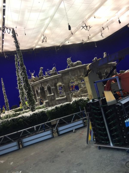Beauty and the Beast BTS