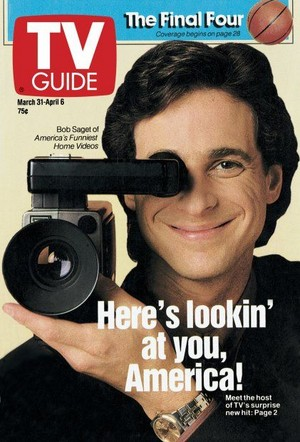 Bob Saget on the cover of TV Guide