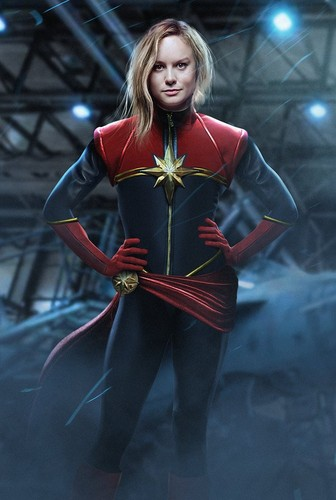 Marvel's Captain Marvel Обои probably containing a surcoat, a lippizan, and a камзол герольда, tabard, гербовая накидка called Brie Larson as Captain Marvel