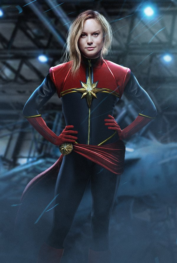 Marvels Captain Marvel Images Brie Larson As Captain Marvel Hd