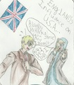 Brit n US - anime fan art