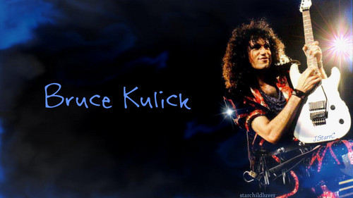 baciare Guitarists wallpaper containing a concerto and a guitarist entitled Bruce Kulick