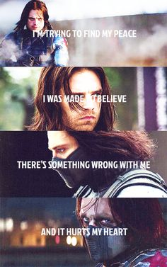 Bucky Barnes as Winter Soldier fanart