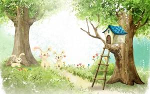 Bunny Treehouse