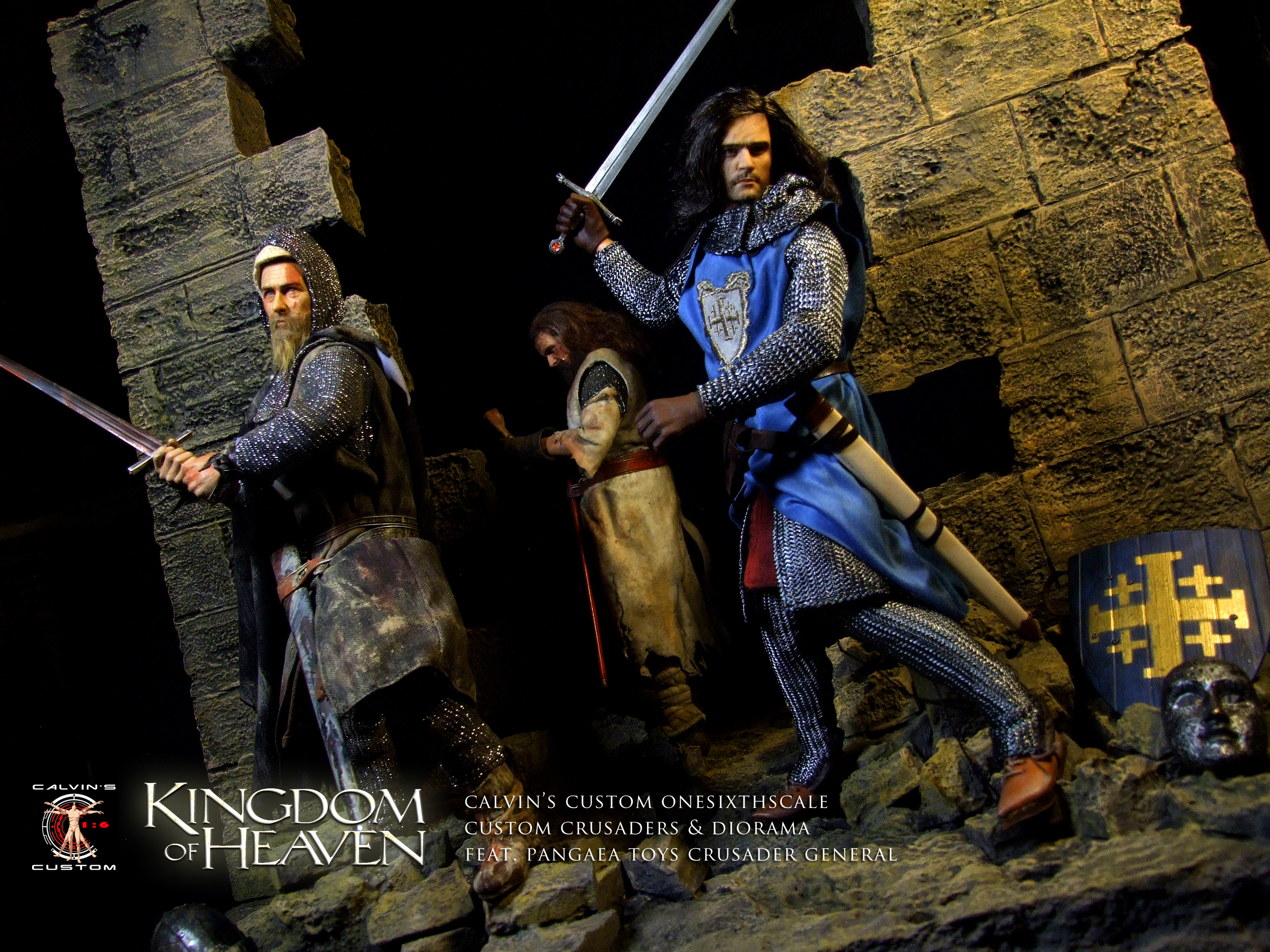 kingdom of heaven images calvins custom 16 onesixthscale