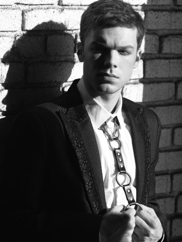 Cameron Monaghan kertas dinding containing a business suit titled Cameron Monaghan - Rogue Magazine - May 2016