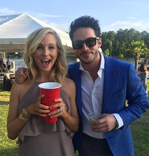Candice King and Michael Trevino